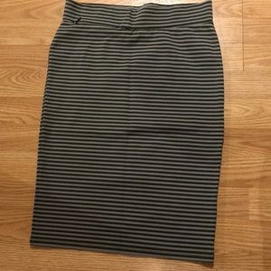 Toad & co skirt striped x-small